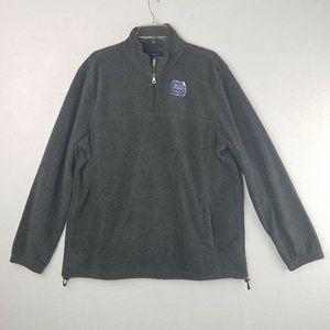 Croft & Barrow gray 1/4 zip Large pullover new